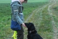 Simone mit Lucy